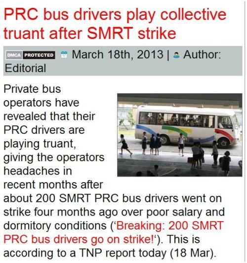 3PRC Private Bus Drivers